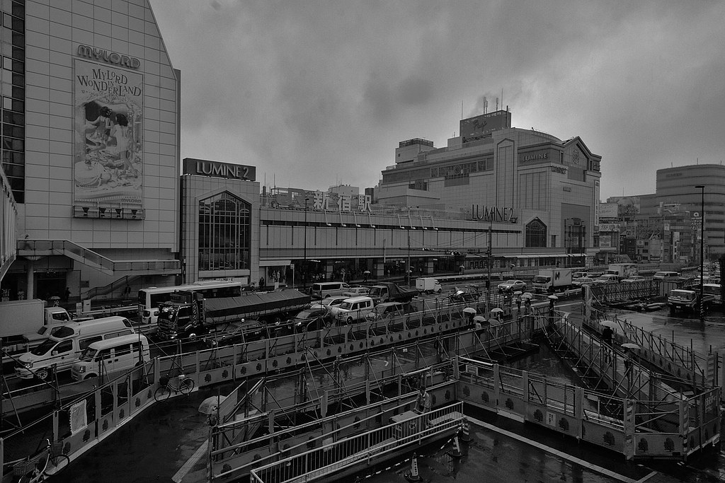 Shinjuku Train Station (South Entrance)