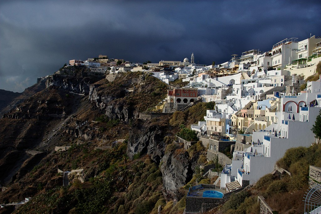 Cloudy Cyclades